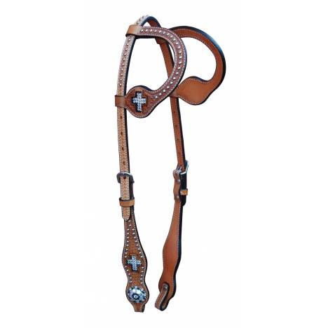 Turn-Two Double Ear Headstall - St. Francis