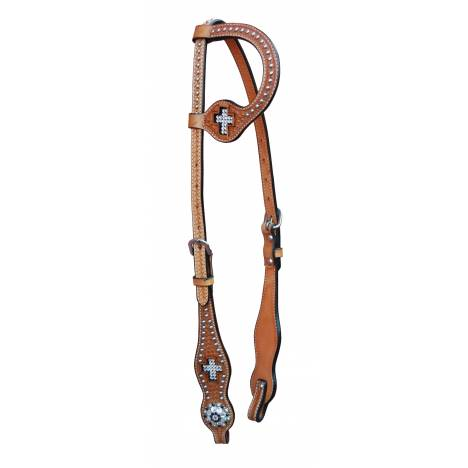 Turn-Two One Ear Headstall - St. Francis