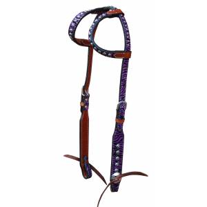 Turn-Two Double Ear Headstall - Chasing Wild