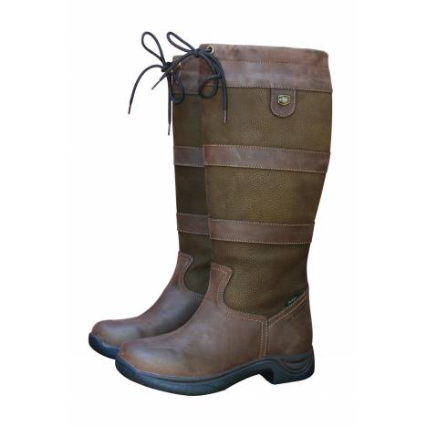 Dublin Ladies River Boots - Chocolate Wide Calf