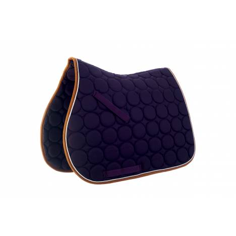 Roma Circle Quilt AP Saddle Pad