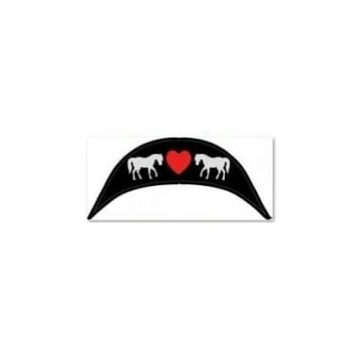 WintecLite Pony All Purpose Cantle - Heart and Ponies