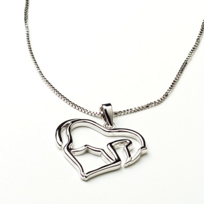 Kelley Horse as Heart Necklace