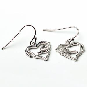 Kelley Horse as Heart Earrings
