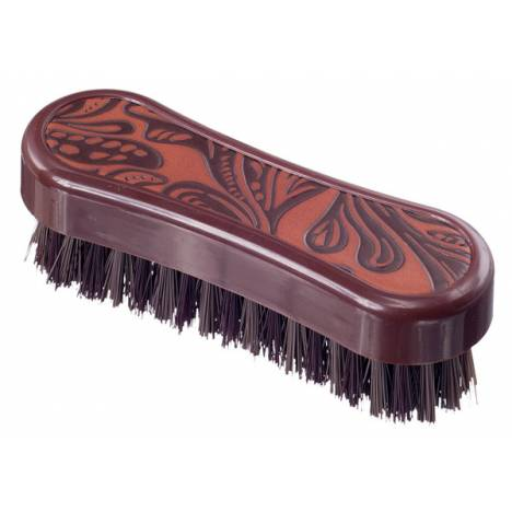 Tough-1 Printed Block Face Brush - Tooled Leather