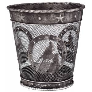 Gift Corral Small Waste Basket - Barrel Racer