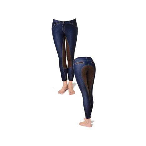 Horseware Blue Denim Breeches - Ladies, Full Seat