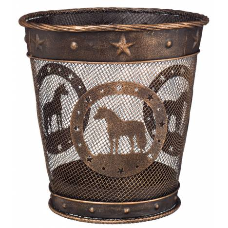 Gift Corral Small Waste Basket - Miniature Horse