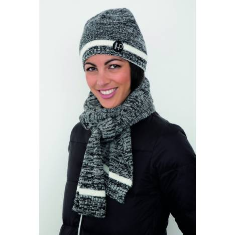 Horseware Platinum Hat and Scarf Set