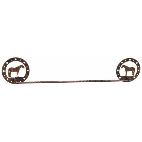Gift Corral Towel Bar - Quarter Horse