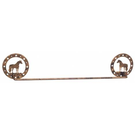 Gift Corral Towel Bar - Miniature Horse