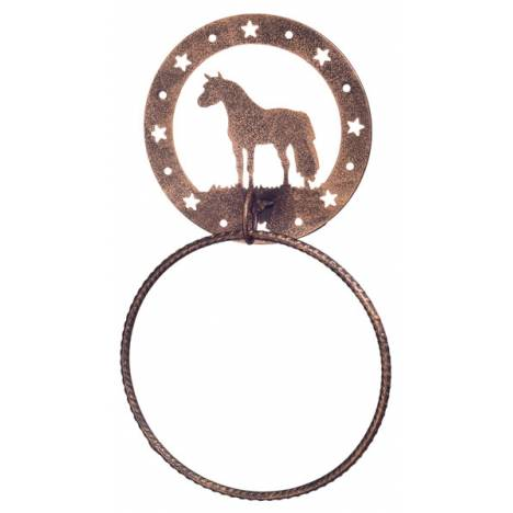 Gift Corral Towel Ring - Miniature Horse