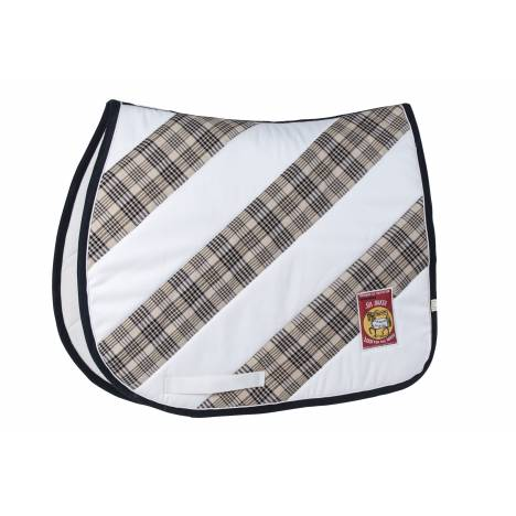 Lettia Diagonal Baker Saddle Pad - All Purpose