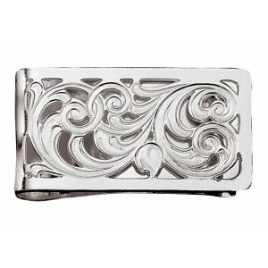 Montana Silversmiths Silver Filigree Square Money Clip