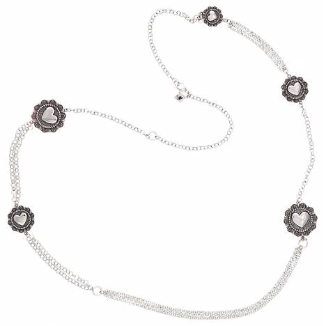 Montana Silversmiths Tokens Of Love Rope Necklace