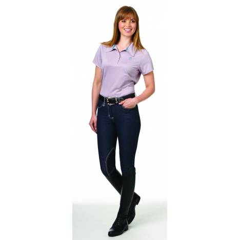 Romfh Ladies Euro Seat Knee Patch Denim Breeches