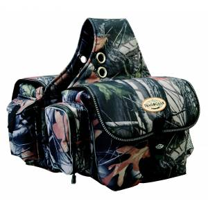 Weaver Trail Gear Saddle Bag - Camo