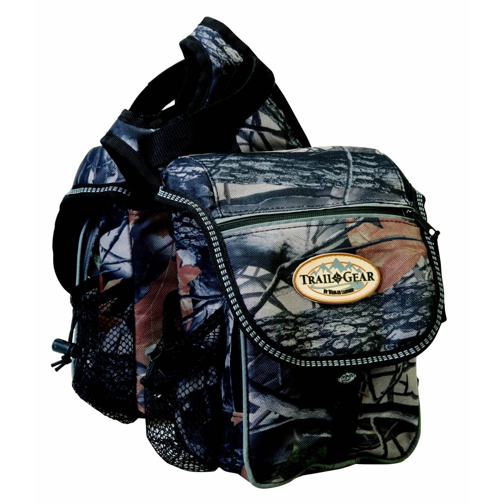 Weaver Trail Gear Pommel Bag - Camo