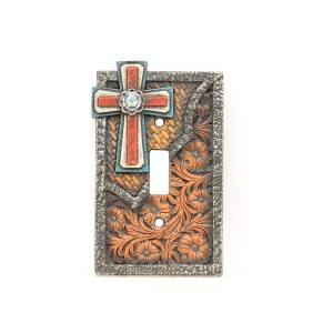 Western Moments Cross Single Switch Plate