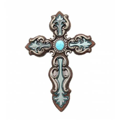 Western Moments Wall Cross Mirror