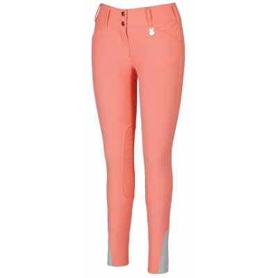 Tuffrider Neon Breeches - Ladies, Knee Patch