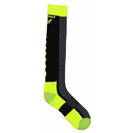 Tuffrider Ventilated Neon Knee Socks - Ladies