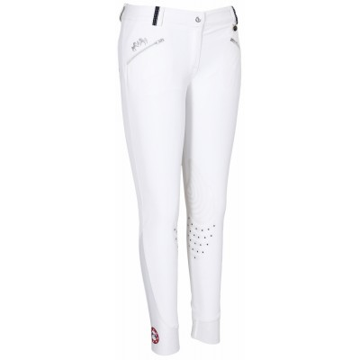 Equine Couture Super Star Breeches - Ladies, Knee Patch