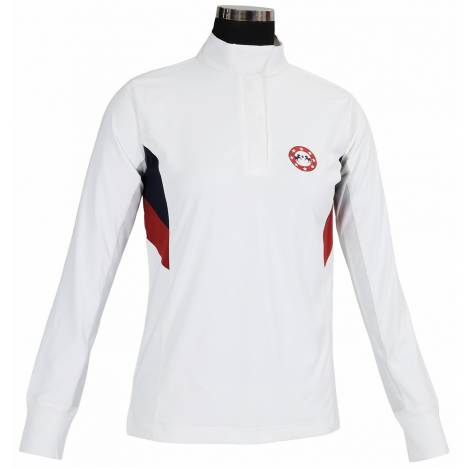 Equine Couture Bostonian Show Shirt - Ladies, Long Sleeve