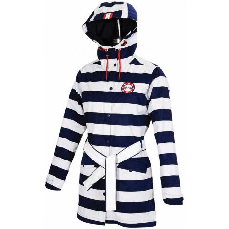 Equine Couture Nautical Rainshell Jacket - Ladies
