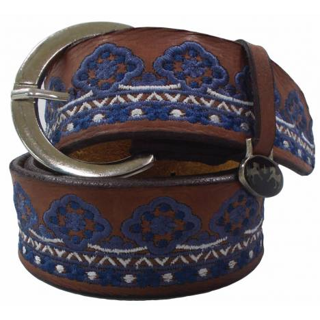 Equine Couture Angela Leather Belt - Ladies