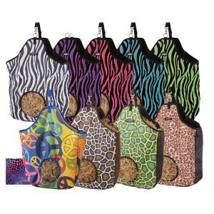 Tough-1 Nylon Hay Tote in Prints - 6 Pack