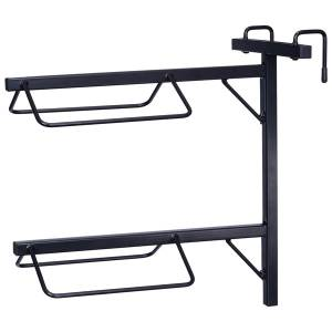 Tough-1 Breakdown Traveling Double Saddle Rack
