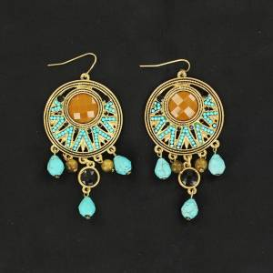 Blazin Roxx Gold Chandelier Earrings