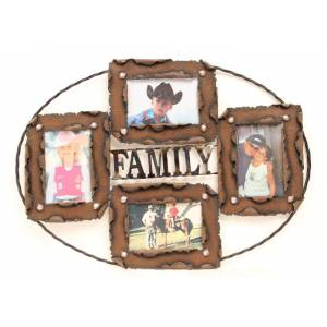 Western Moments FAMILY Multi Pic Frame