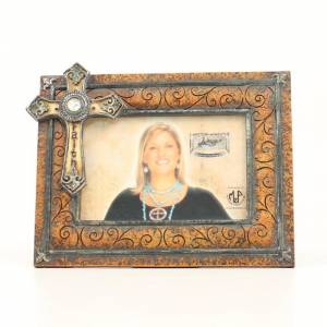 Western Moments Faith Cross Frame