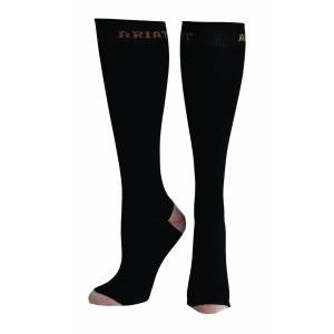 Ariat Heavy Duty Sport Socks - Mens, Black