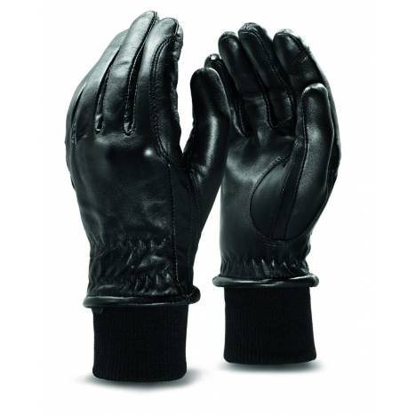 Ariat Insulated ProGrip Leather Gloves - Ladies, Black