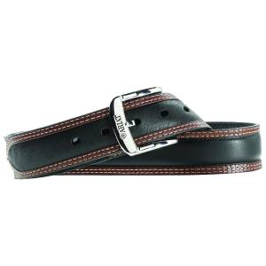 Ariat Diesel Belt - Mens, Black/Tan