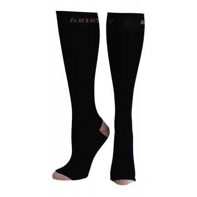 Ariat Tall Boot Socks - Ladies, Black