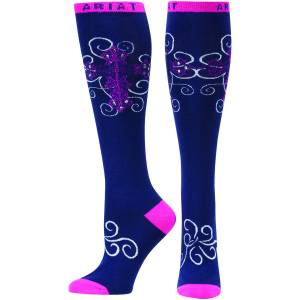 Ariat Presley Knee High Socks - Ladies
