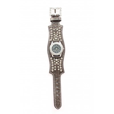 Blazin Roxx Womens Scallop Crystal Watch