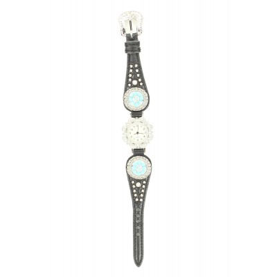 Blazin Roxx Womens Scallop Concho Watch
