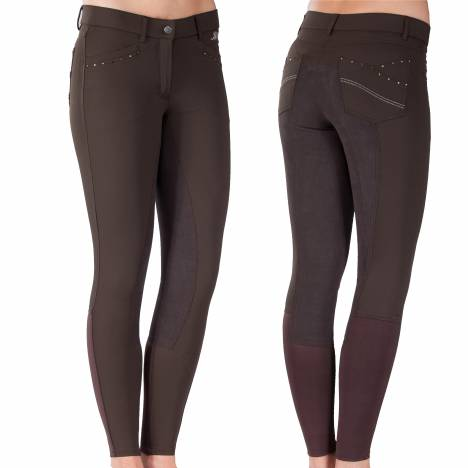B Vertigo Olivia Self Seat Breeches - Ladies, Knee Patch