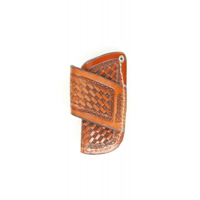 Nocona Horizontal Weave Knife Sheath