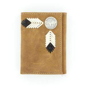 Nocona Tri-fold Buffalo Nickel Wallet