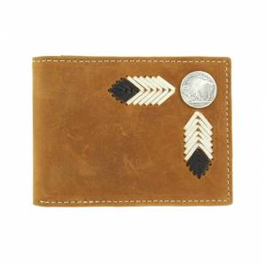 Nocona Bi-fold Buffalo Nickel Wallet