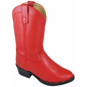 Smoky Mountain Denver Leather Boots - Toddler, Red