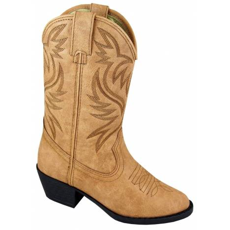 Smoky Mountain Trenton Western Boots - Youth, Tan