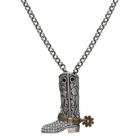 Montana Silversmiths Boot Charm Necklace