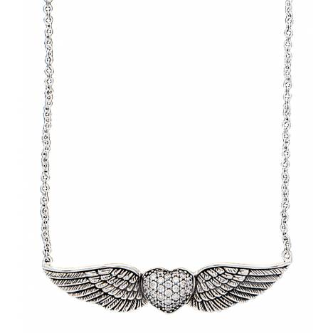Montana Silversmiths May Your Heart Soar on Wings Necklace